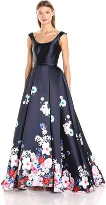 Mac Duggal Macduggal Women's Floral Ball Gown