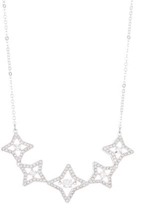 Swarovski Sparkling Star Dancing Crystal Collar Necklace