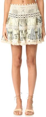 Camilla Short Frill Hem Skirt $380 thestylecure.com