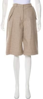 Acne Studios Wool Knee-Length Shorts