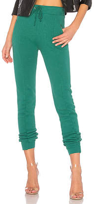 Wildfox Couture Solid Zipper Sweatpant
