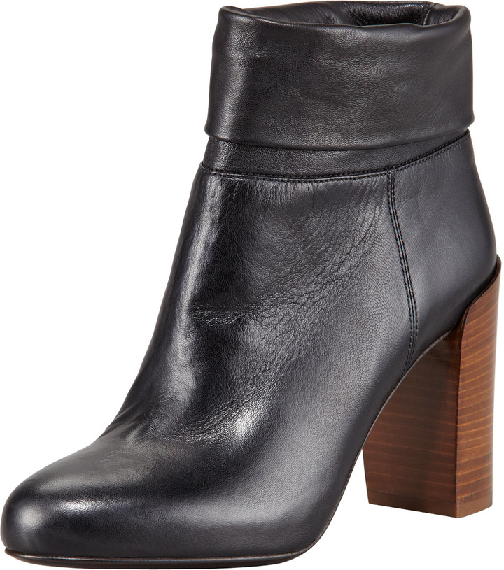 Vince Chase Leather Ankle Boot