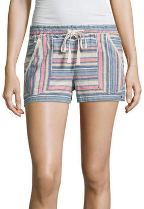REWIND Rewind Woven Pull-On Shorts-Juniors