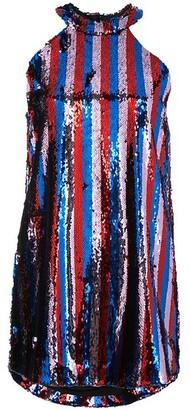 Halpern sequined halter dress