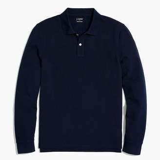 J.Crew Long-sleeve piqué polo shirt