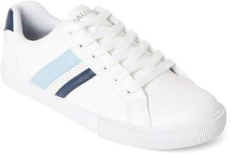 Nautica White & Peacoat Steam 4 Low-Top Sneakers