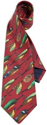 f7e3c92385a2 Polo Ralph Lauren Fish Fly Print Tie