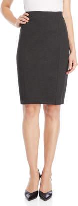 Premise Seamed Slim Pencil Skirt