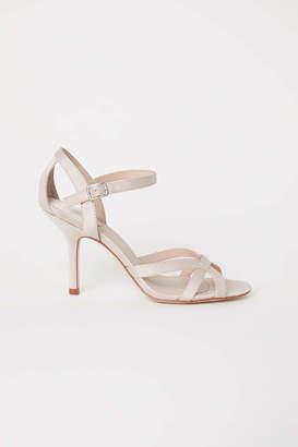 H&M Sandals - Light beige - Women
