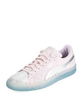 Puma Suede Glitter Princess Sneaker
