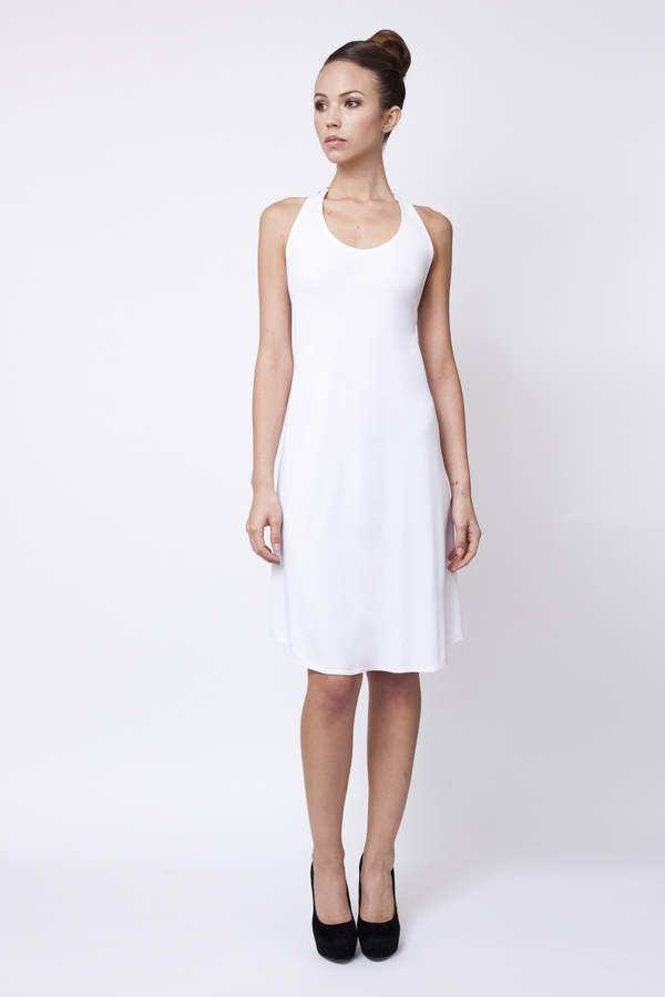 Carnet de Mode Dress - Izri - white