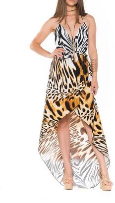 Bella Animal Maxi Dress $82 thestylecure.com