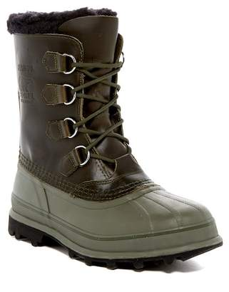 Sorel Caribou Waterproof Leather Boot