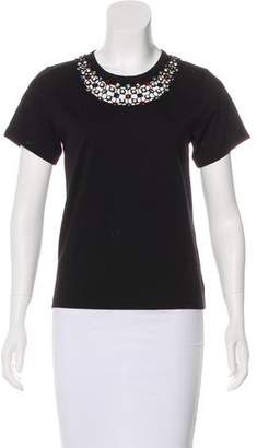 Marc Jacobs Embellished Short Sleeve Top w/ Tags