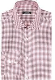 Fairfax Men's Checked Cotton Dress Shirt - Red