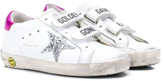 Golden Goose Kids old school strap sneakers