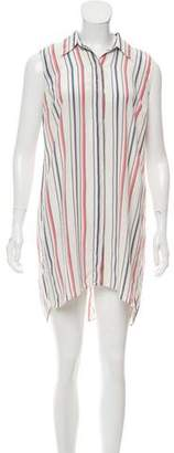 Elizabeth and James Striped Mini Dress