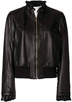 Patrizia Pepe frill detail jacket