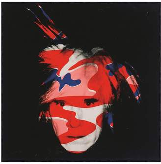 McGaw Graphics Self-Portrait, 1986 by Andy Warhol (Framed)