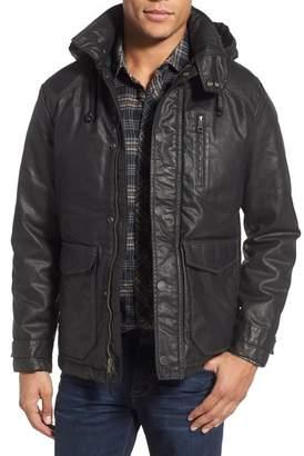 Jeremiah Baron Coated Hooded Jacket