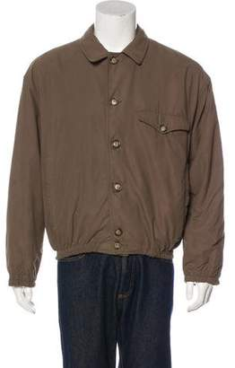 Giorgio Armani Collared Button-Up Jacket