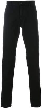 Ann Demeulemeester contrast stripe jeans