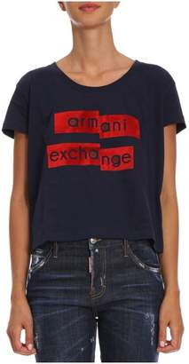 Armani Collezioni (アルマーニ コレッツォーニ) - T-shirt T-shirt Women Armani Exchange