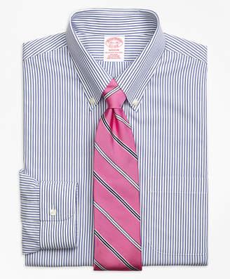 Brooks Brothers Madison Classic-Fit Dress Shirt, Non-Iron Wide Stripe