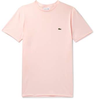 Lacoste Slim-Fit Cotton-Jersey T-Shirt - Men - Pink