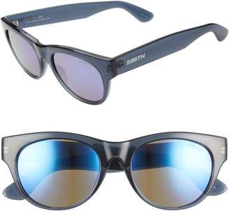 Smith Sophisticate 54mm Mirrored Cat Eye Sunglasses