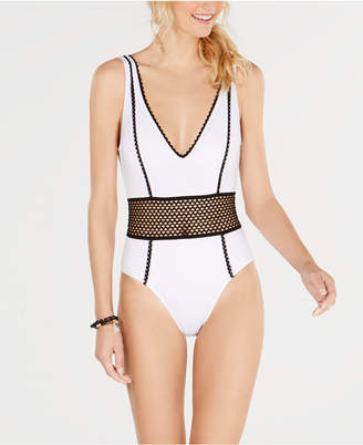 Kenneth Cole New York Find Tranquility One-Piece Swimsuit Women's Swimsuit