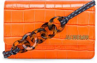 Jacquemus Le Sac Riviera Bag in Orange | FWRD