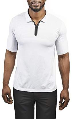 Copper Fit Pro Men's Seamless Short Sleeve Polo
