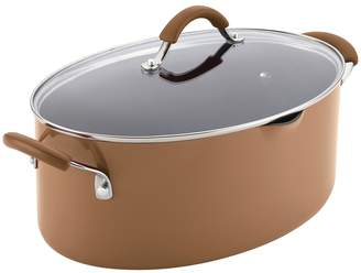 Rachael Ray 8QT. Cucina Non-Stick Covered Oval Pasta Pot