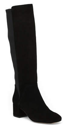 Suede Tall Shaft Boots