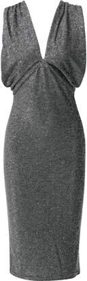 Walter W118 By Baker Jolie Metallic Stretch-knit Dress