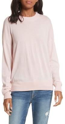 Frame True Crewneck Wool Sweater