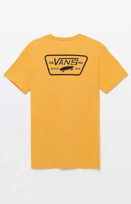 Vans Full Patch Yellow T-Shirt