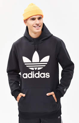 adidas Team Tech Fleece Black Pullover Hoodie