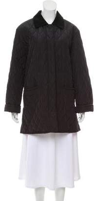 Max Mara Quilted Short Coat