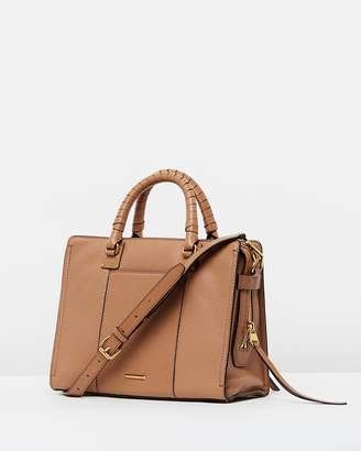 Rebecca Minkoff Bree Medium Top Zip Satchel Bag