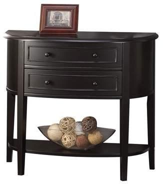 ACME Furniture ACME Poshire Console Table, Black