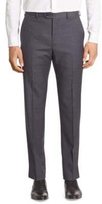 Giorgio Armani Slim-Fit Wool Trousers