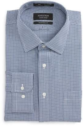 Nordstrom Smartcare(TM) Traditional Fit Houndstooth Dress Shirt