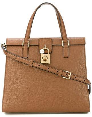 Dolce & Gabbana padlock tote $1,995 thestylecure.com