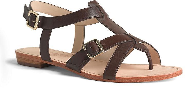 Brooks Brothers Calfskin Gladiator Sandal