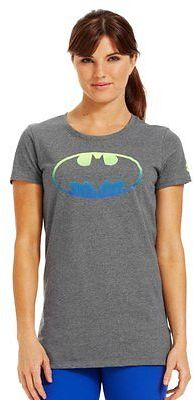 Under Armour Women's Alter Ego Ombre Batgirl Semi-Fitted T-Shirt