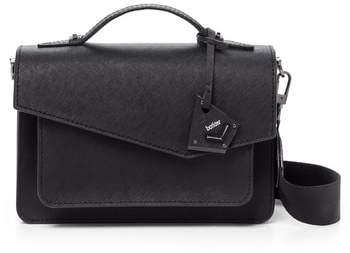 Botkier Cobble Hill Leather Crossbody Bag - Black
