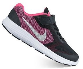 Nike Revolution 3 Pre-School Girls' Running Shoes $52 thestylecure.com