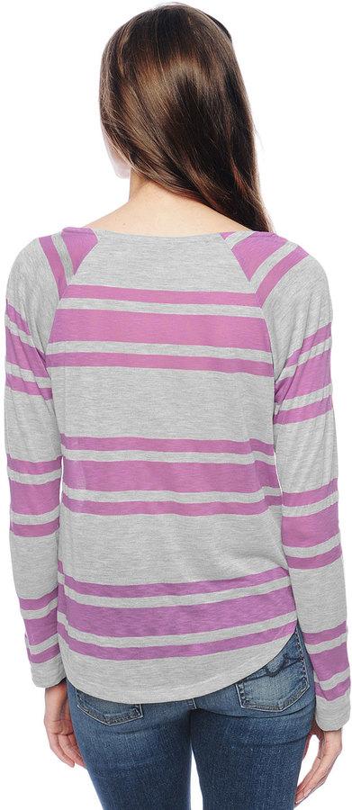 Splendid Grecian Stripe Pullover